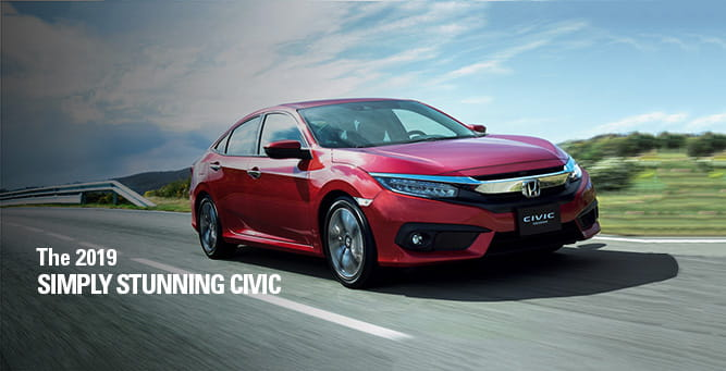 Civic Sedan – Simply Stunning | Honda Ghana