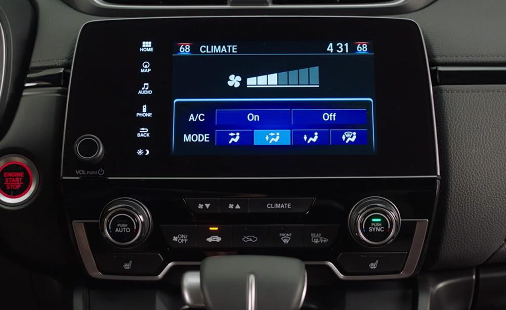 Honda Climate Control System